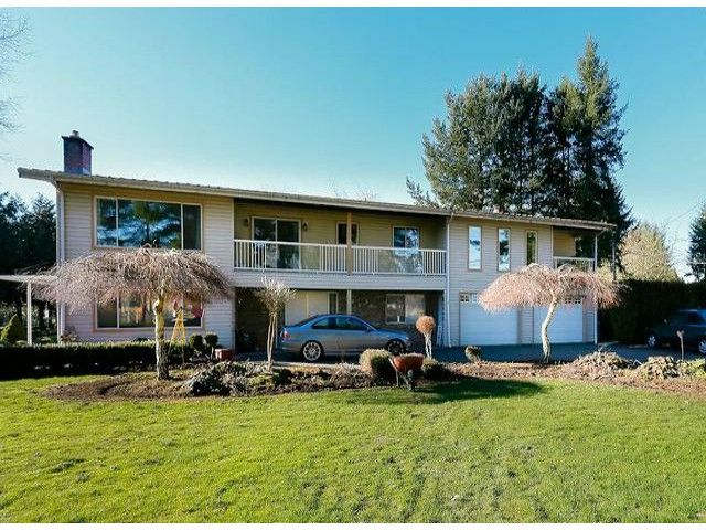 Main Photo: 4523 240TH Street in Langley: Salmon River House for sale : MLS®# F1327214