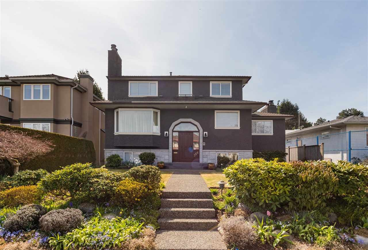 Main Photo: 366 W 26TH Avenue in Vancouver: Cambie House for sale (Vancouver West)  : MLS®# R2449624