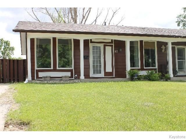 Main Photo: 87 Evenwood Crescent in WINNIPEG: Charleswood Residential for sale (South Winnipeg)  : MLS®# 1516705
