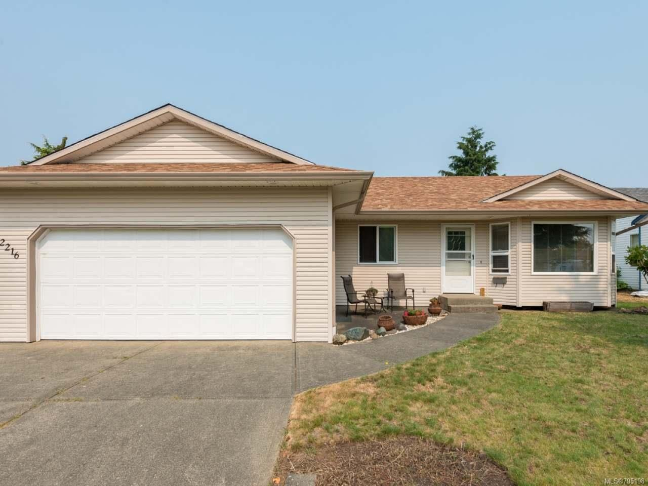 Main Photo: 2216 E 9th St in COURTENAY: CV Courtenay East House for sale (Comox Valley)  : MLS®# 795198