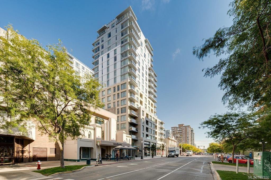Main Photo: 1401 848 Yates St in : Vi Downtown Condo for sale (Victoria)  : MLS®# 887886