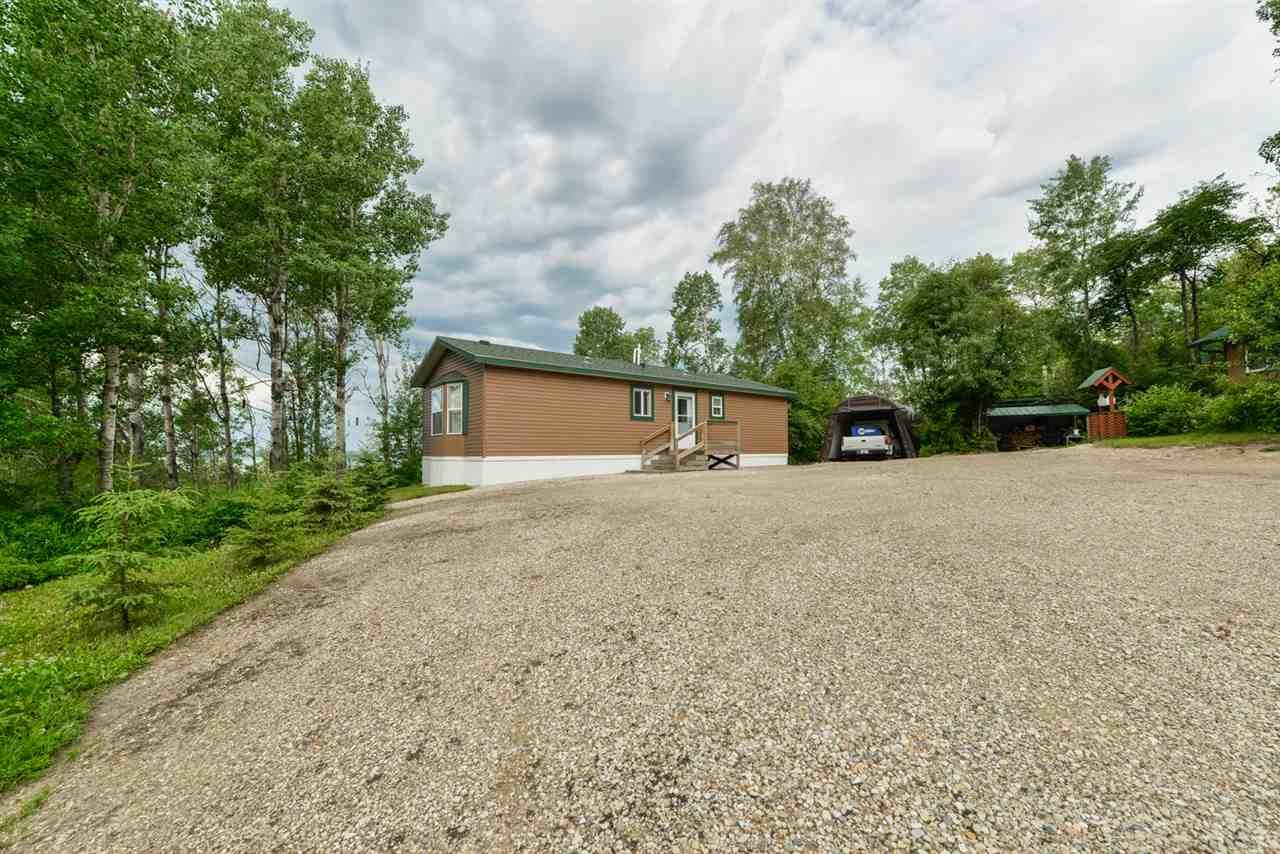 Main Photo: 4428 LAKESHORE Road: Rural Parkland County Manufactured Home for sale : MLS®# E4184645