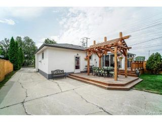 Photo 20: 1455 Somerville Avenue in WINNIPEG: Manitoba Other Residential for sale : MLS®# 1419393