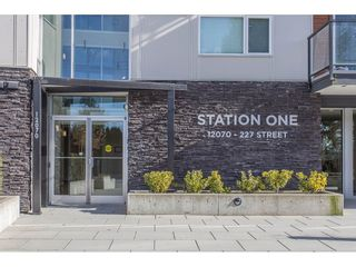 "Photo 1: 208 12070 227 Street in Maple Ridge: East Central Condo for sale in ""Station One"" : MLS®# R2241707"
