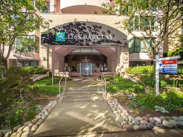 """Main Photo: 701 1265 BARCLAY Street in Vancouver: West End VW Condo for sale in """"1265 Barclay"""" (Vancouver West)  : MLS®# R2089582"""