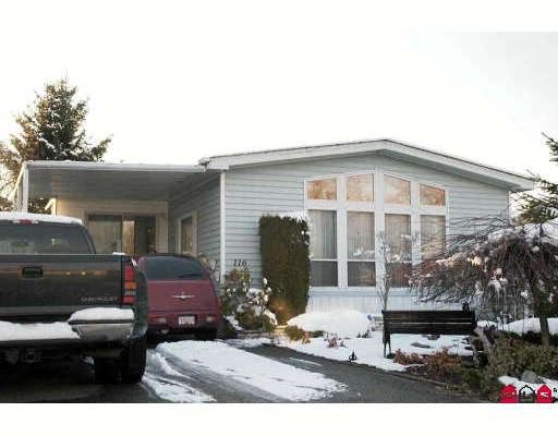 """Main Photo: 116 3300 HORN Street in Abbotsford: Central Abbotsford Manufactured Home for sale in """"Georgian Park"""" : MLS®# F2903341"""