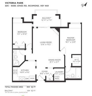 "Photo 20: 305 8080 JONES Road in Richmond: Brighouse South Condo for sale in ""VICTORIA PARK"" : MLS®# R2451582"