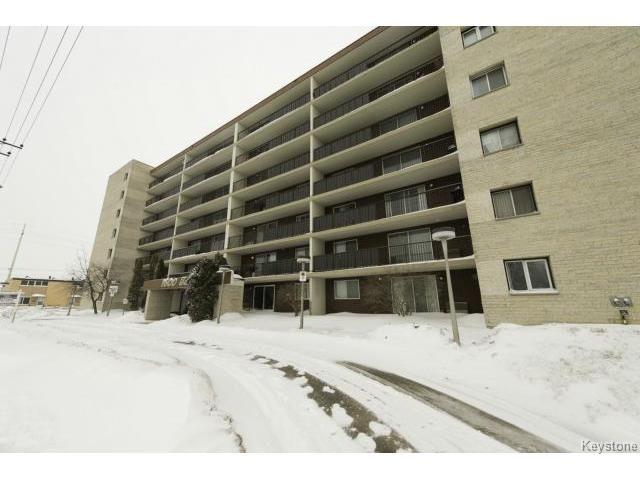 Main Photo: 408 1600 Taylor Avenue in Winnipeg: Condominium for sale : MLS®# 1304216
