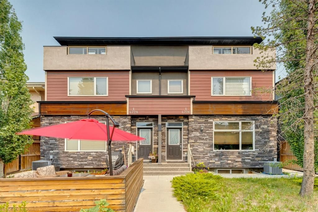 Main Photo: 2 4728 17 Avenue NW in Calgary: Montgomery Row/Townhouse for sale : MLS®# A1125415