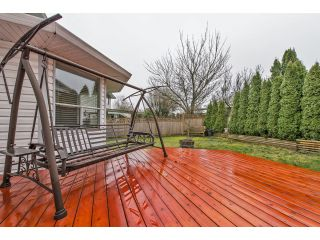 """Photo 35: 32278 ROGERS Avenue in Abbotsford: Abbotsford West House for sale in """"Fairfield Estates"""" : MLS®# F1433506"""