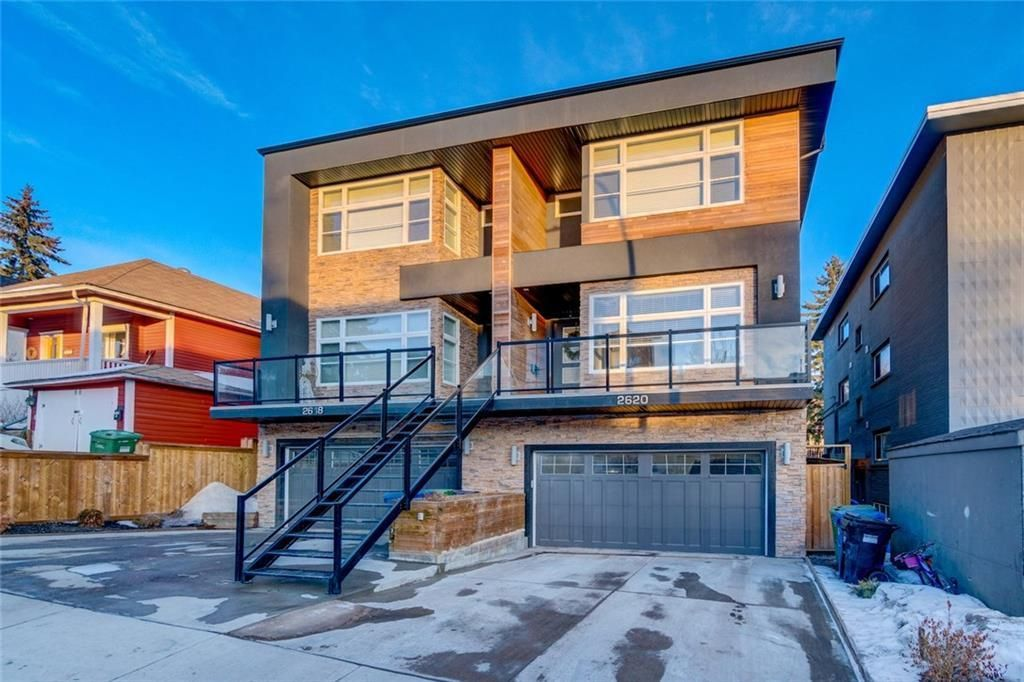 Main Photo: 2620 15A Street SW in Calgary: Bankview Semi Detached for sale : MLS®# A1070498
