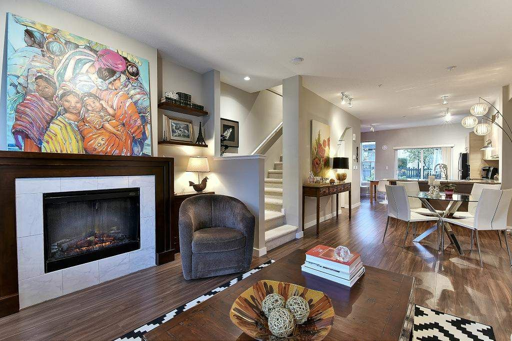 "Main Photo: 91 7938 209 Street in Langley: Willoughby Heights Townhouse for sale in ""Red Maple Park"" : MLS®# R2120892"
