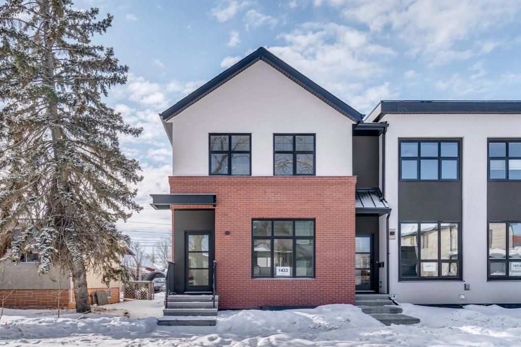 Main Photo: 1433 10 Avenue SE in Calgary: Inglewood Row/Townhouse for sale : MLS®# A1113404