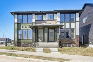 Main Photo: 787 Walgrove Boulevard SE in Calgary: Walden Semi Detached for sale : MLS®# A1099165