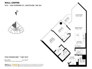 """Photo 31: 1210 1050 BURRARD Street in Vancouver: Downtown VW Condo for sale in """"WALL CENTRE"""" (Vancouver West)  : MLS®# R2587308"""