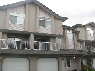 Photo 1: 17 2538 PITT RIVER Road in Port Coquitlam: Mary Hill Townhouse for sale : MLS®# V881869
