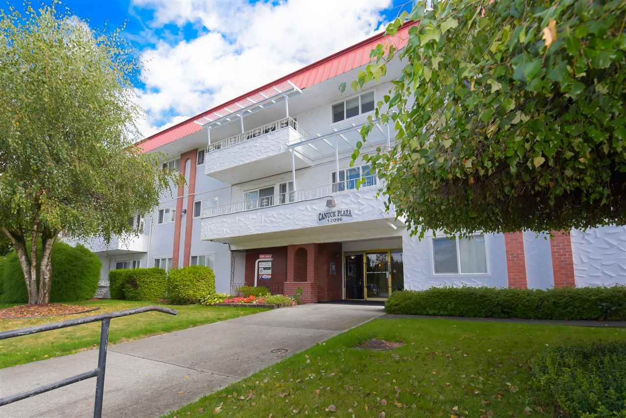 "Main Photo: 308 12096 222 Street in Maple Ridge: West Central Condo for sale in ""CANUCK PLAZA"" : MLS®# R2541037"