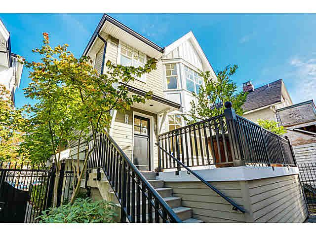 Main Photo: 2124 W 8TH AVENUE in : Kitsilano Townhouse for sale : MLS®# V1088974