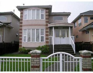 Photo 1: 6348 LANARK Street in Vancouver: Knight House for sale (Vancouver East)  : MLS®# V619868