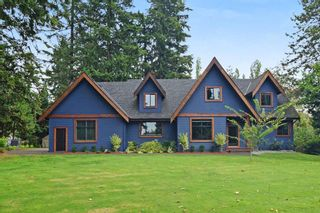 """Photo 1: 5438 240 Street in Langley: Salmon River House for sale in """"Strawberry Hills"""" : MLS®# R2311221"""