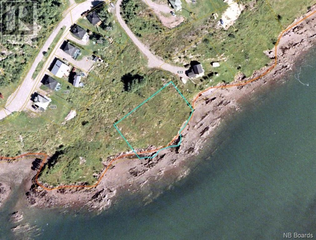Main Photo: 637 Wellington Road in Blacks Harbour: Vacant Land for sale : MLS®# NB060608