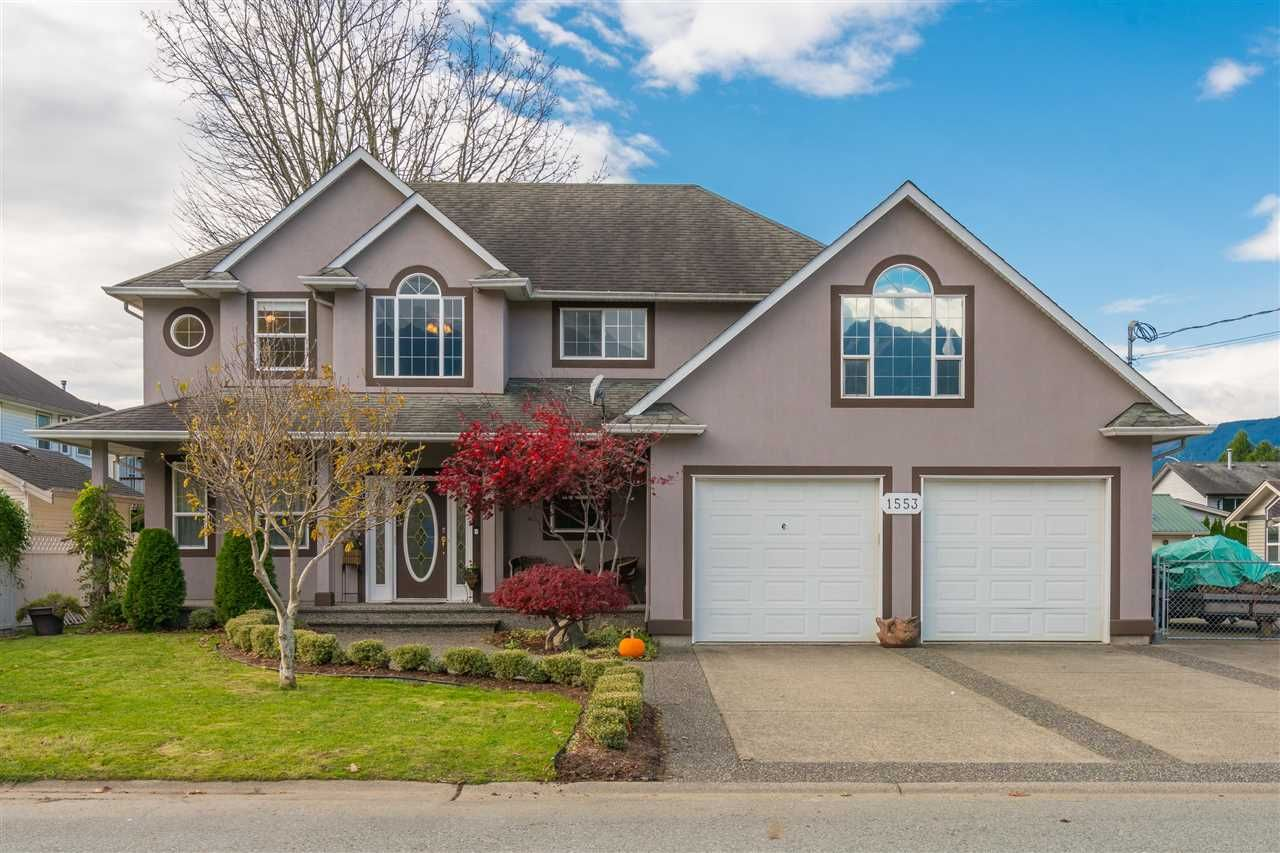 Main Photo: 1553 PARKWOOD Drive: Agassiz House for sale : MLS®# R2515960
