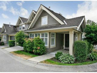 """Photo 1: 78 15500 ROSEMARY HEIGHTS Crescent in Surrey: Morgan Creek Townhouse for sale in """"CARRINGTON"""" (South Surrey White Rock)  : MLS®# R2341301"""