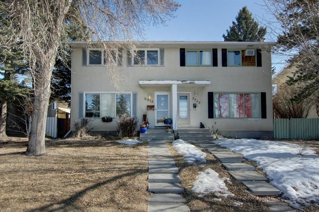 Main Photo: 5918 37 Street SW in Calgary: Lakeview Semi Detached for sale : MLS®# A1073760