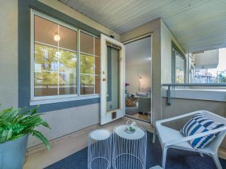 """Photo 8: 203 825 W 15TH Avenue in Vancouver: Fairview VW Condo for sale in """"The Harrod"""" (Vancouver West)  : MLS®# R2625822"""