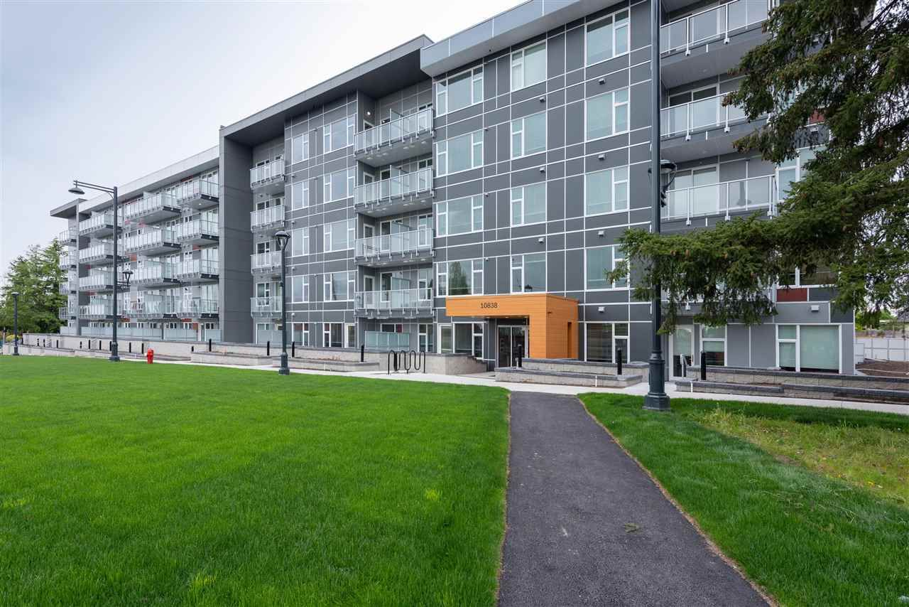 """Main Photo: 211 10838 WHALLEY Boulevard in Surrey: Bolivar Heights Condo for sale in """"MAVERICK"""" (North Surrey)  : MLS®# R2618113"""