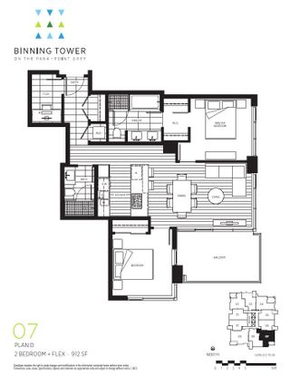 """Photo 17: 807 3355 BINNING Road in Vancouver: University VW Condo for sale in """"BINNING TOWER"""" (Vancouver West)  : MLS®# R2166123"""