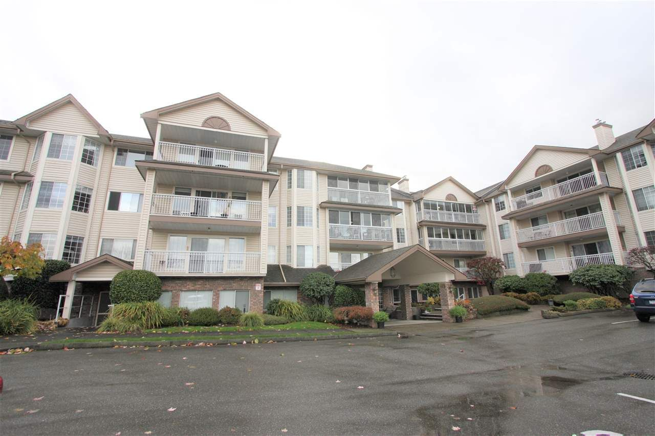 """Main Photo: 201 2491 GLADWIN Road in Abbotsford: Abbotsford West Condo for sale in """"Lakewood Gardens"""" : MLS®# R2517289"""