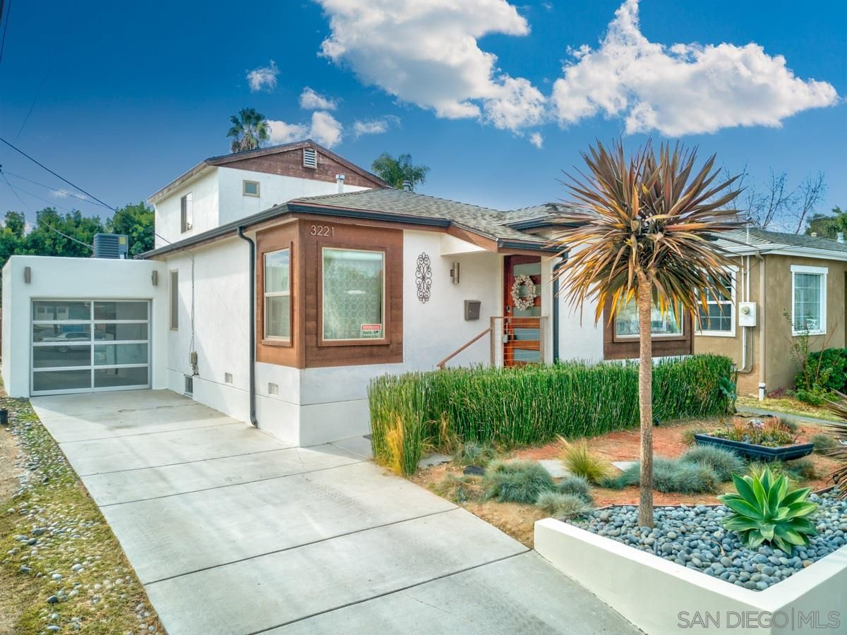 Main Photo: NORMAL HEIGHTS House for sale : 3 bedrooms : 3221 Copley Ave in San Diego