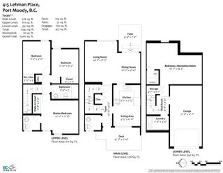 Photo 29: 415 LEHMAN Place in Port Moody: North Shore Pt Moody Townhouse for sale : MLS®# R2565469