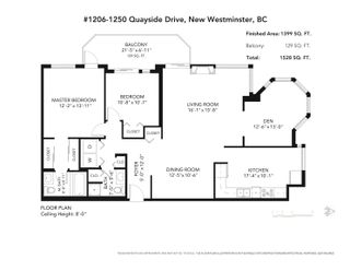 """Photo 28: 1206 1250 QUAYSIDE Drive in New Westminster: Quay Condo for sale in """"Promenade"""" : MLS®# R2614356"""