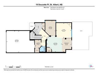 Photo 40: 19 DOUCETTE Place: St. Albert House for sale : MLS®# E4256586