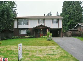 """Photo 1: 20508 42A Avenue in Langley: Brookswood Langley House for sale in """"BROOKSWOOD"""" : MLS®# F1124582"""