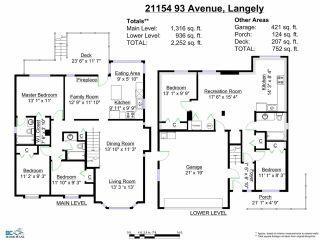 Photo 20: 21154 93RD AV in Langley: Walnut Grove House for sale : MLS®# F1422745