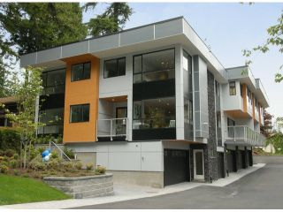"""Photo 1: # 1 1466 EVERALL ST: White Rock Townhouse for sale in """"THE FIVE"""" (South Surrey White Rock)  : MLS®# F1313640"""