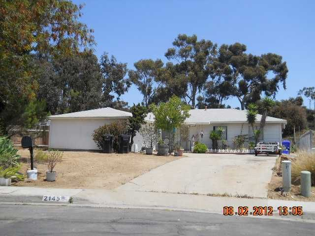 Main Photo: SAN DIEGO House for sale : 3 bedrooms : 2145 Judson Street
