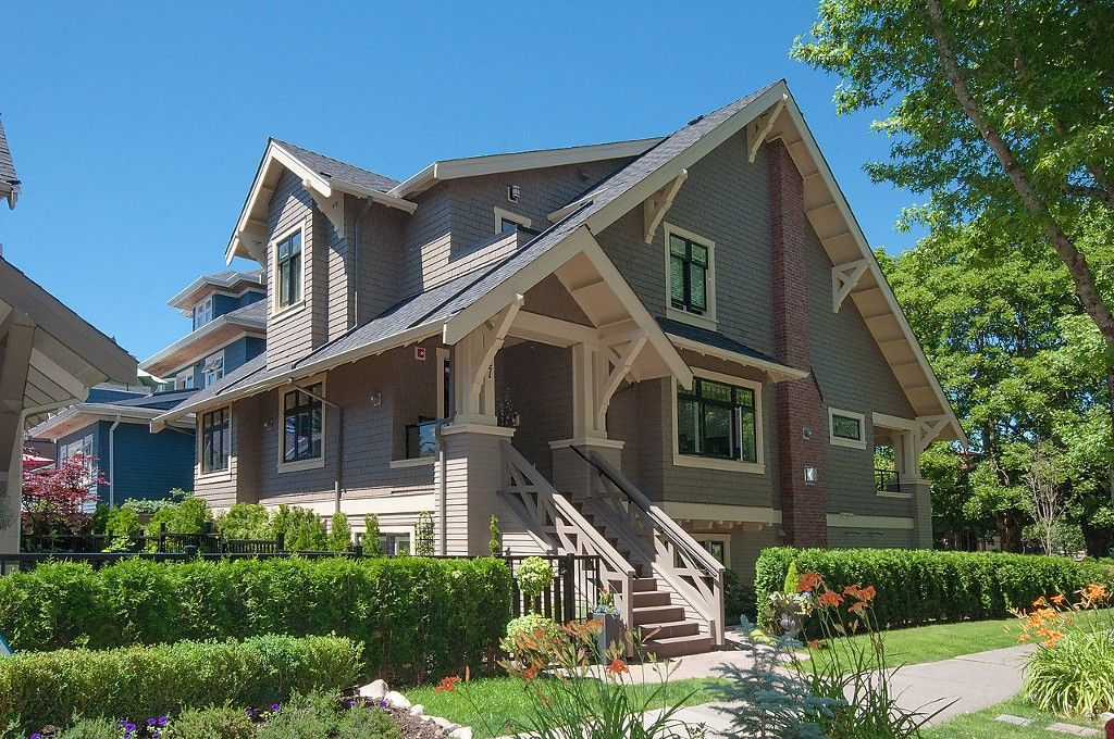 Main Photo: 2727 CYPRESS Street in Vancouver: Kitsilano 1/2 Duplex for sale (Vancouver West)  : MLS®# V1128521