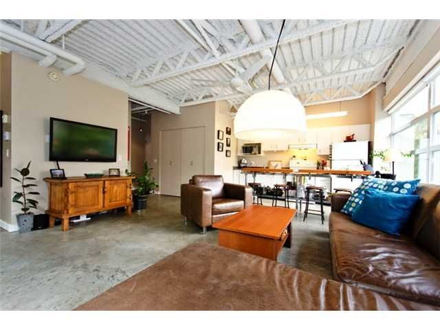 """Main Photo: 331 350 E 2ND Avenue in Vancouver: Mount Pleasant VE Condo for sale in """"MAIN SPACE'"""" (Vancouver East)  : MLS®# V898024"""