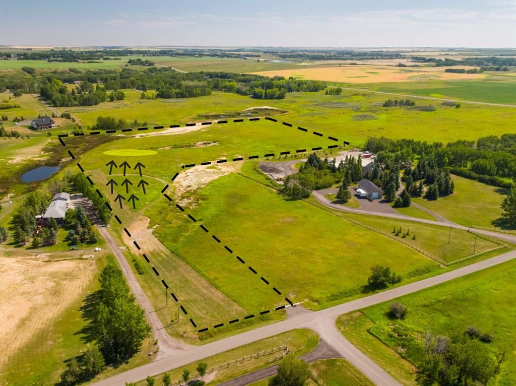 Main Photo: 14ac NORTH of DUNBOW Rd 48 Street: Rural Foothills County Residential Land for sale : MLS®# A1092764