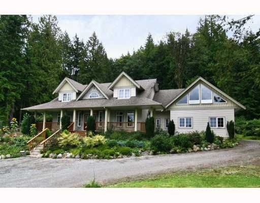 Main Photo: 11630 284TH Street in Maple Ridge: Whonnock House for sale : MLS®# V809162