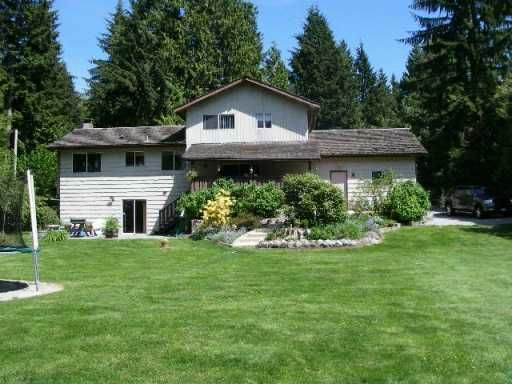 Main Photo: 11881 260TH ST in Maple Ridge: Websters Corners House for sale : MLS®# V593089