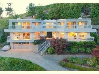 Photo 1: 4765 WESTWOOD Drive in West Vancouver: Cypress Park Estates Home for sale ()  : MLS®# V845697