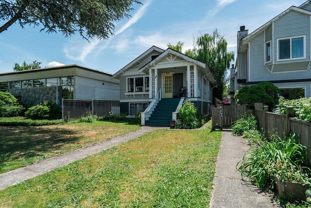 Main Photo: 2836 W 8TH Avenue in Vancouver: Kitsilano House for sale (Vancouver West)  : MLS®# R2594412