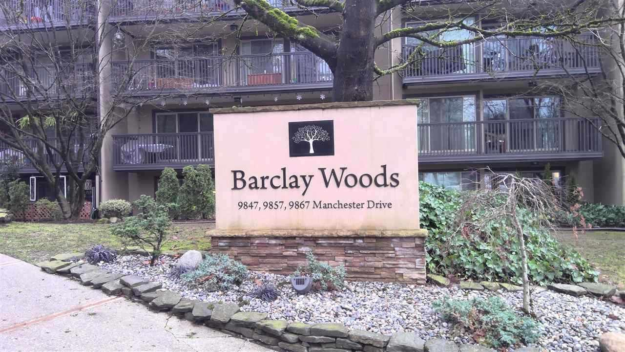 """Main Photo: 502 9847 MANCHESTER Drive in Burnaby: Cariboo Condo for sale in """"Barclay Woods"""" (Burnaby North)  : MLS®# R2543010"""
