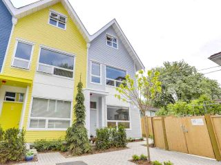 "Main Photo: 1 1322 E 23RD Avenue in Vancouver: Knight Townhouse for sale in ""DICKENS AT KENSINGTON"" (Vancouver East)  : MLS®# R2270484"