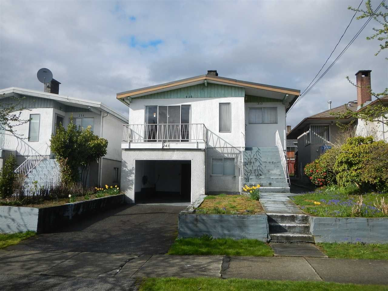 Main Photo: 243 E 62ND Avenue in Vancouver: South Vancouver House for sale (Vancouver East)  : MLS®# R2157310